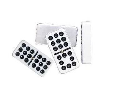 Tournament size double nine dominoes