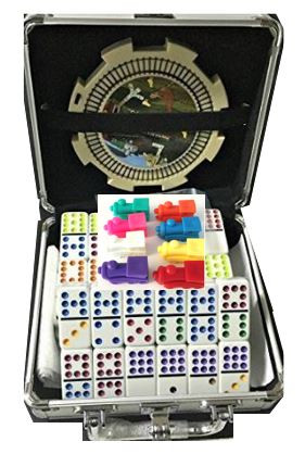 mexican train senior domino set