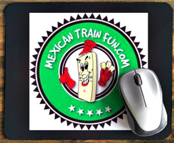 Mexican Train Domino Mousepad