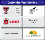 Personalized Double Nine Dominoes