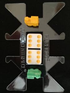 rectangular clear domino hub