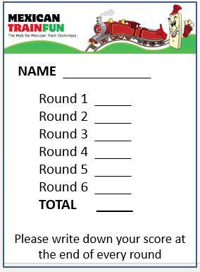 Domino Tournament Scorepad