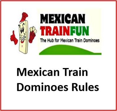 Mexican train dominoes rules