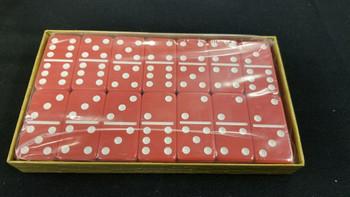 jumbo six Green dominoes red