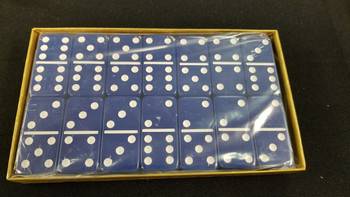 jumbo six Blue dominoes