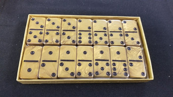 jumbo six gold dominoes
