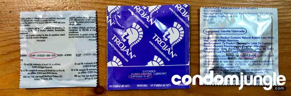 Condom Expiration Date - Wrapper