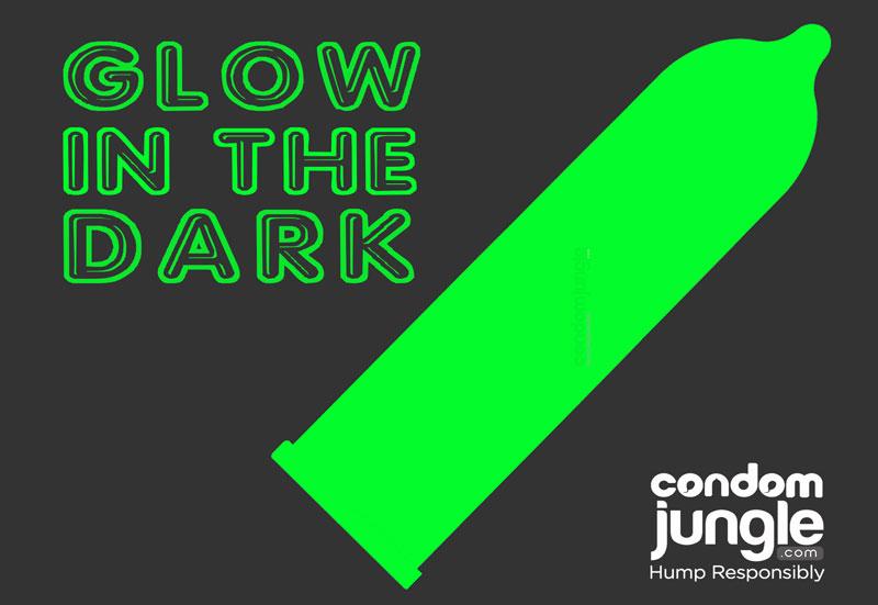 Glow in the dark condoms: Illuminating Frolicking Fun