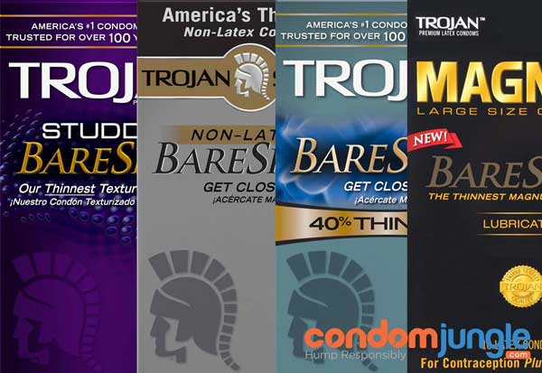 Trojan Bare Skin: Standard Condoms Don't Feel like This