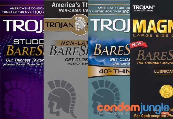 Trojan Bare Skin: Standard Condoms Don't Feel like This