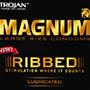 Trojan Magnum Ribbed Condom