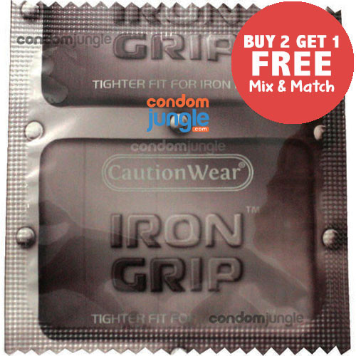 Iron Grip Condom.
