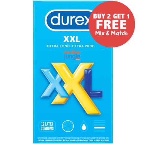 Durex XXL Condoms - Buy 2, Get 1 Free