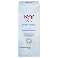 A front side image of a box of the KY Jelly Personal Lubricant.