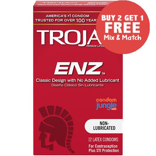 Trojan ENZ Non-Lubricated