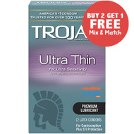Trojan Ultra Thin Condoms - Buy 2, Get 1 Free (Mix & Match)