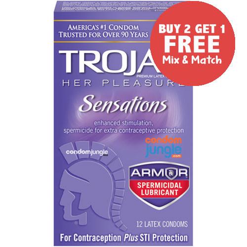 Trojan Her Pleasure Spermicidal