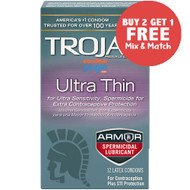 Trojan Ultra Thin Spermicidal