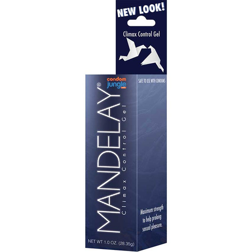 Mandelay Climax Control Gel - Front Angle