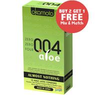 Okamoto Zero Zero Four .004 Aloe