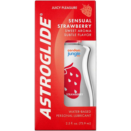 Astroglide Strawberry - Box - Front