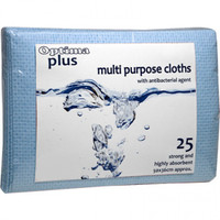 Professional Hygiene Cloths 25 Pack (Choose Colour)