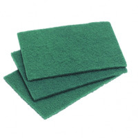 Green Scourers 10 Pack