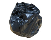 "Light Duty Black Refuse Sacks 100 Case (18"" x 29"" x 34"")"