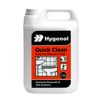 Quick clean Washroom Cleaner 2 x 5Ltr