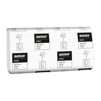 Katrin White Interfold 1 Ply Hand Towels (5000 Per Case)