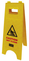 "Folding ""A"" Caution Sign"