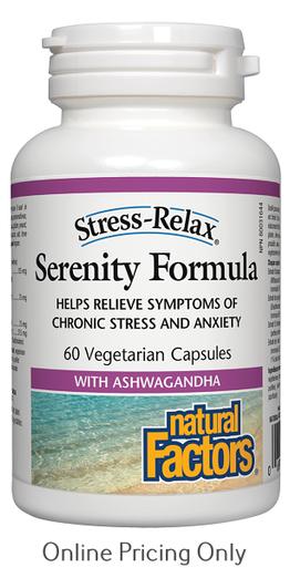 Natural Factors Serenity Formula 60vcaps