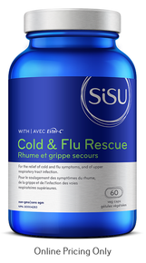 Sisu Cold & Flu Rescue with Ester-C 60vcaps