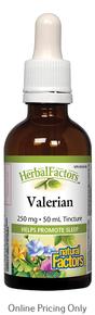 Natural Factors Valerian Tincture 50ml