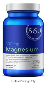 Sisu Magnesium 100mg 100vcaps