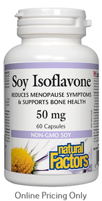 Natural Factors Soy Isoflavone Complex 50mg 60caps
