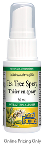 NATURAL FACTORS TEA TREE SPRAY 30ml