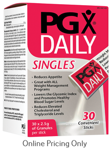 Natural Factors PGX Daily Singles 75g packet