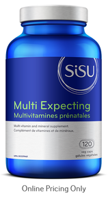 Sisu Multi Expecting Prenatal 120caps