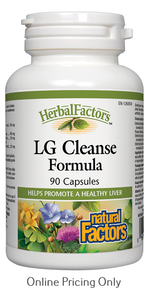 Natural Factors LG Cleanse Formula 90caps