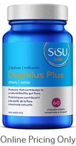 SISU DOPHILUS PLUS FOR KIDS CHEWABLE 60tabs