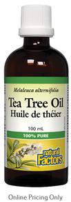 Natural Factors Tea Tree Oil 100ml