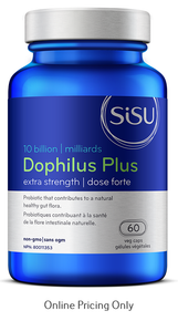 Sisu Dophilus Plus Extra Strength 60caps