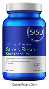 Sisu Stress Rescue 250mg 60vcap