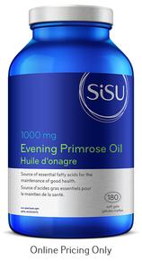 Sisu Evening Primrose Oil 1000mg 180vcaps