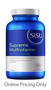Sisu Supreme Multi Iron Free 120vcap