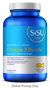 Sisu Omega 3 Burst Kids 550mg 120sg