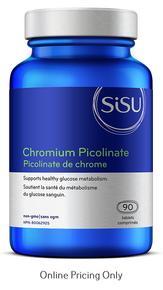 Sisu Chromium Picolinate 90tabs