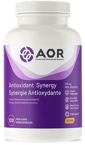 AOR Antioxidant Synergy 120vcaps