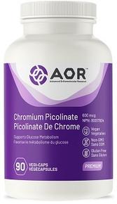 AOR Chromium Picolinate 90vcaps